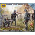 Zvezda 1:72 German Infantry  1939-1942 ( Military small sets) 6105