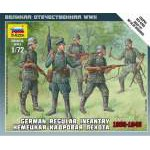 Zvezda 1:72 Ger.Regular Infantry 1939-43 6178 figura makett