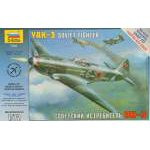 Zvezda 1:72 Airplanes Yak-3 Soviet Fighter 7301 repülő makett