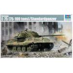 Trumpeter 1:35 German E-75 (75-100 tons) Standardpanzer
