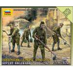 Zvezda 1:72 Soviet Engineers WWII (Military small set) 6108 figura maket