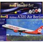 Revell 1:144 Airbus A320 AirBerlin 64861 repülő makett