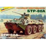 Zvezda 1/35 BTR-80A lövészpáncélos Z3560