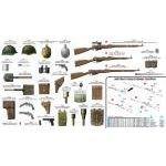 Miniart 1:35 szovjet gyalogsági fegyverek és felszerelések