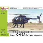 "AZ Model 1:72 - HUGHES OH-6A CAYUSE ""INTERNATIONAL"" - AZ7427"