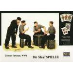 Masterbox 1:35 German (WWII) tank crew playing cards Die Skatspieler