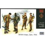 Masterbox 1:35 British (WWII) troops, Caen, 1944