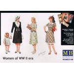 "Masterbox 1:35 ""Women of WW II era"""