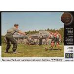Masterbox 1:35 German Tankers - A Break between battles
