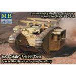 Masterbox 1:72 - Mk.I Male. Gaza  Strip modification
