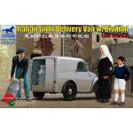 Bronco Models 1:35 Italian Light Delivery Van with Civilian