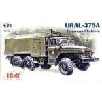 ICM 1:72 Ural-375A Command Vehicle