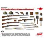 ICM 1:35  WWI Russian Infantry Weapon and Equipment (orosz fegyverzet szett