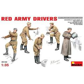 Miniart 1:35 Red Army drivers