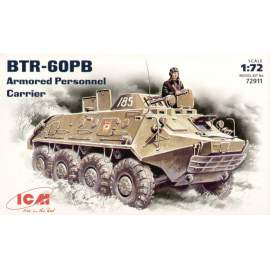 ICM - 1:72 Russian BTR-60PB Armoured Personnel Carrier