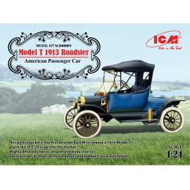 ICM 1: 24 Model T 1913 Roadster, American Passenger Car