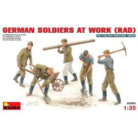 Miniart 1:35 German soldiers at work (RAD)