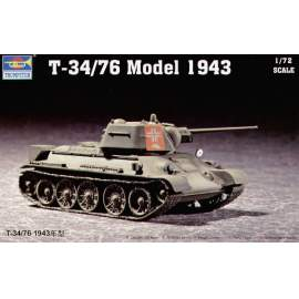 Trumpeter 1:72 Russian T-34/76 Model 1943