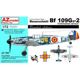 "AZ Model 1:72 - MESSERSCHMITT BF 109GA-2 ""IN ROMANIAN SERVICE"""