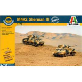 M4A2 Sherman III (Fast Assembly Set)