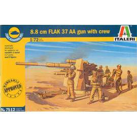 88mm Flak 37 AA Gun (WWII) SPECIAL LIMITED EDITION (Fast Assembly Set)