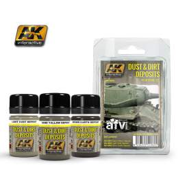 Dust And Dirt Deposits Weathering Set (por és kosz hatások)