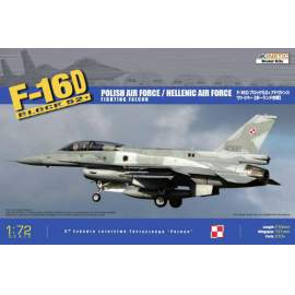 Kinetic 1:72 F-16 D Block 52+ (Hellenic(Greek) Air Force and Polish AF)