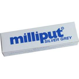 Milliput 2 part epoxy filler. Silver Grey medium grade.