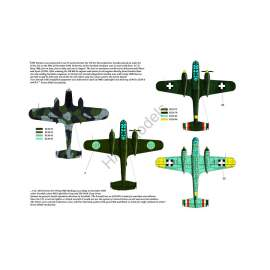 HADModels - 1:48 Dornier Do 215B-4 / Do 17S ( Hungarian, Swedish, German)