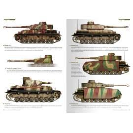 1945 German colors. Camouflage Profil Guide (Német harcjármű festések)