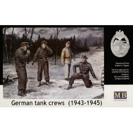 Masterbox 1:35 German (WWII) Tank Crews (1943-1945)