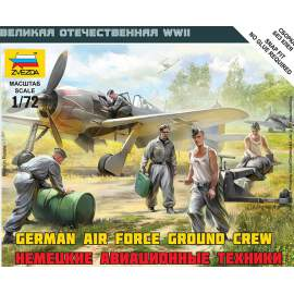 Zvezda 1:72 German Airforce Ground Crew