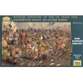 Zvezda - English Infantry Of The 100 Years War