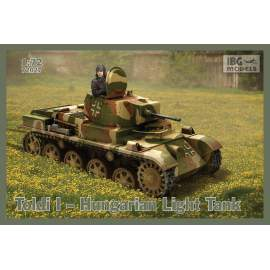 IBG Model 1:72 Toldi I. Hungarian Light Tank