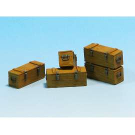 Eureka 1:35 Wooden Ammo Boxes for 5 cm Kw.K.39