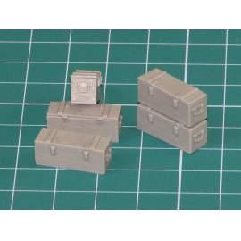 Eureka 1:35 Wooden Ammo Boxes for 5 cm Kw.K.39