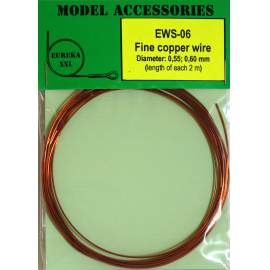 Fine copper wires 0.55 mm / 0.60 mm