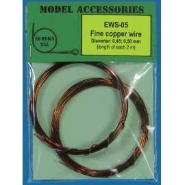 Fine copper wires 0.45 mm / 0.50 mm