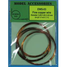 Fine copper wires 0.28 mm / 0.30 mm / 0.32 mm