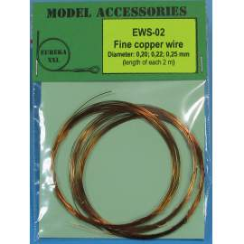 Fine copper wires 0.20 mm / 0.22 mm / 0.25 mm