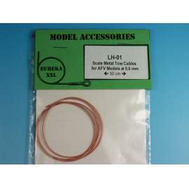 0.6mm Metal wire rope for AFV Kits