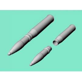Eureka 1:35 - 7,5 cm Sprgr.Patr.34 Kw.K.40/Stu.K.40 L/43 and L/48