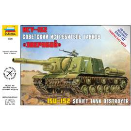 Zvezda 1:72 Self Propelled Gun ISU-152