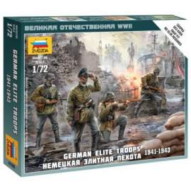 Zvezda 1:72 German Elite Troops 1939-43