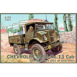 IBG Model 1:72 Chevrolet C15A No.13 Cab General Service