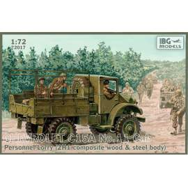 IBG Model 1:72 Chevrolet C15A No.11 Cab Personnel Lorry