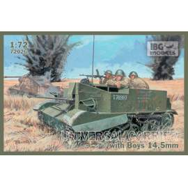 IBG Model 1:72 Universal Carrier I Mk.I with Boys AT rifle