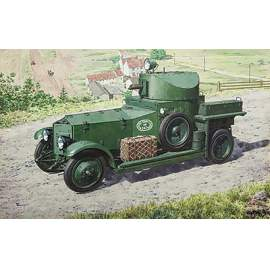 Roden 1:72 British Armoured Car (Pattern 1920 Mk.I) harcjármű makett
