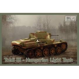 IBG Model 1:72 Toldi III Hungarian Light Tank