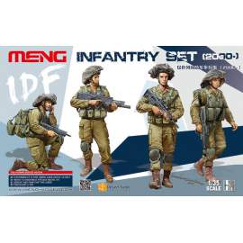 Meng Model 1:35 IDF Infantry Set 2000-